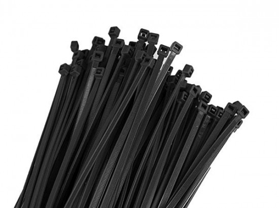 RTech стяжки 4,8X300MM Black