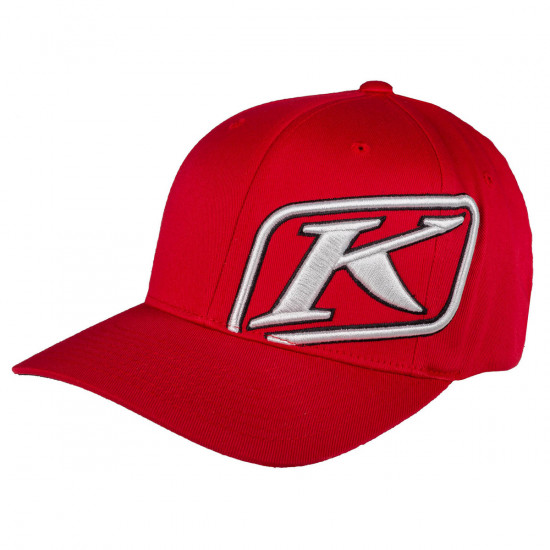 Klim Rider Hat SM - MD Red - White