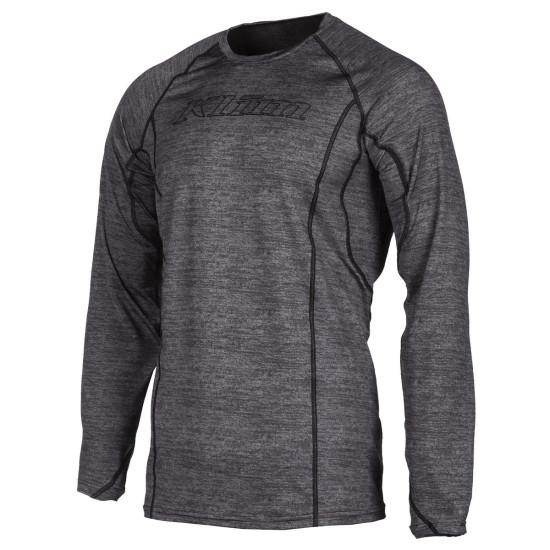Klim Aggressor Shirt 1.0 LG Black Heather