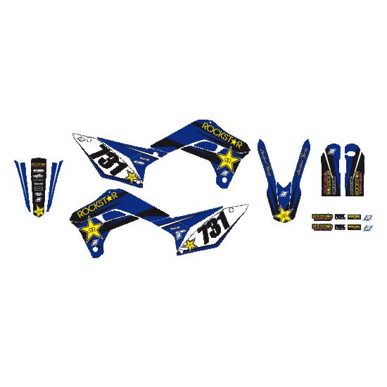 Blackbird комплект графіки Rockstar Energy Sherco SE SEF 17-21