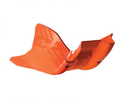 RTech захист мотора пластиковий KTM EXC 250-300 17-18 Orange