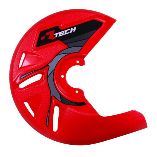 RTech Universal Brake Disk Protector Front Red