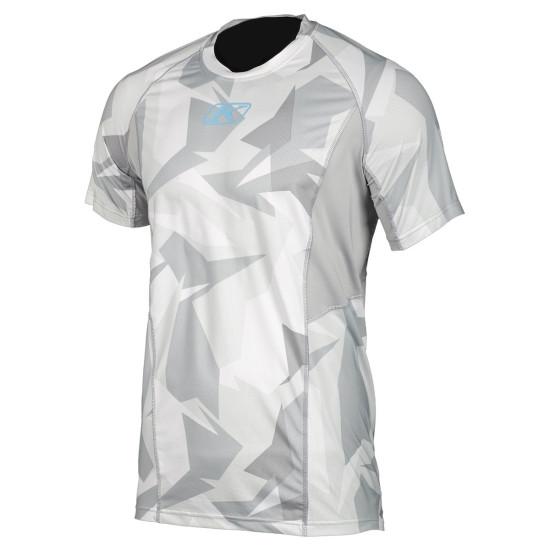 Klim Aggressor Cool -1.0 Short Sleeve XL Light Gray Camo