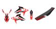 Blackbird комплект графіки та обшивка сідиння Dream 4 Husqvarna TE/TC 449-511 11-13