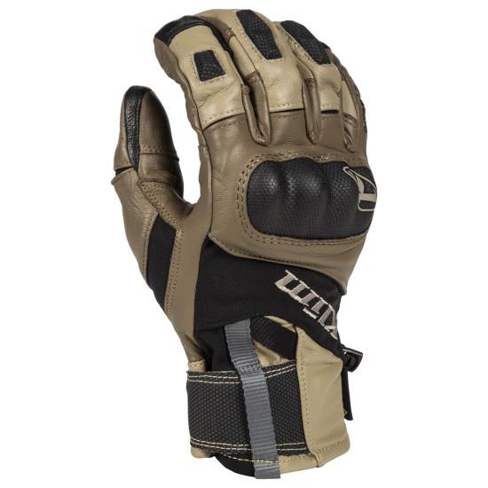 Klim Adventure GTX Short Glove XL Tan