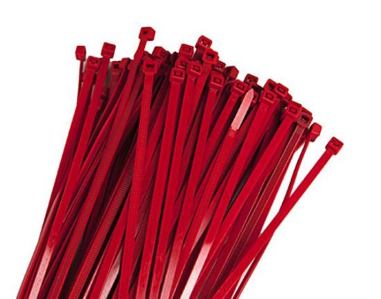 RTech стяжки 4,8X300MM Red