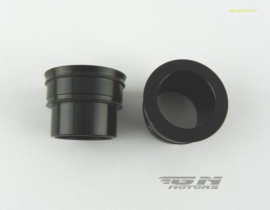 GN дистанційні втулки переднього колеса КТМ 26 мм Black