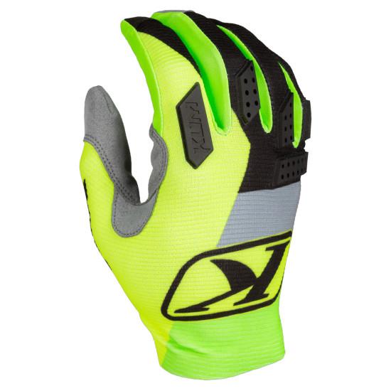 Klim Kids XC Lite Glove YLG Electrik Lemonade