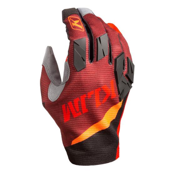 Klim Women's XC Lite Glove SM Hot Sauce