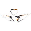Blackbird наклейки під номер (табличка + задні боковинки) KTM SX-SXF 19-21