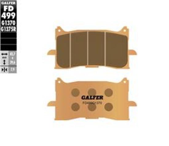 Galfer гальмівні колодки передні SINTERED Honda Africa Twin (road street)